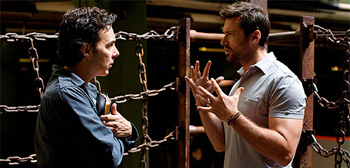 Shawn Levy and Hugh Jackman