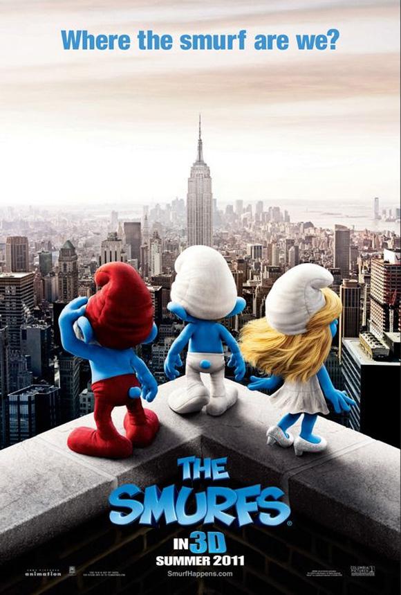 Smurfs Teaser Poster