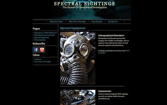 Spectral Sightings