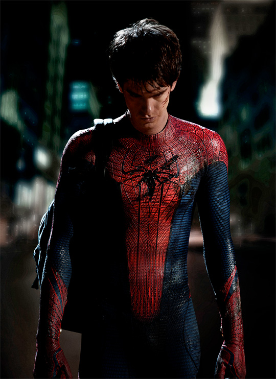 Andrew Garfield as Spider-Man First Photo