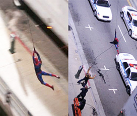 Spider-Man Set Photo