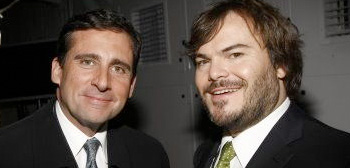 Steve Carell and Jack Black
