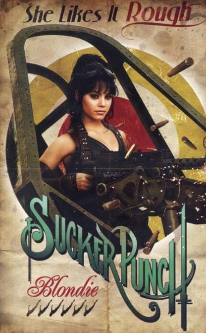 Sucker Punch Vintage Poster - Blondie