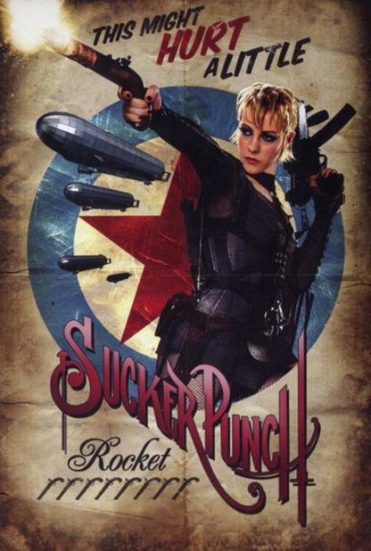 Sucker Punch Vintage Poster - Rocket