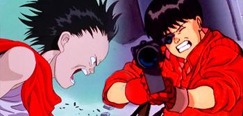 Tetsuo (Left) & Kaneda (Right) from Akira