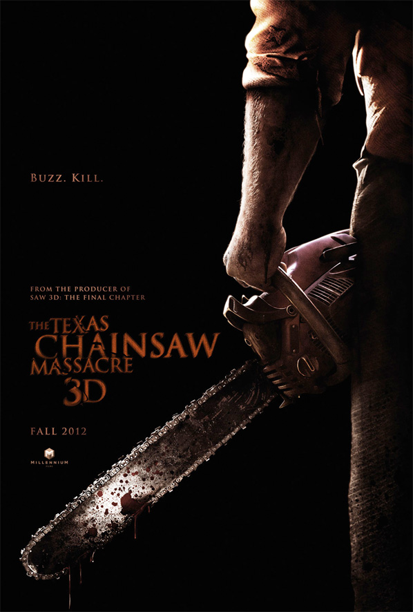 Texas Chainsaw Massacre 3D Teaser Poster