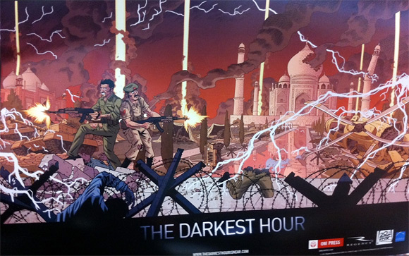 The Darkest Hour Comic Book Art