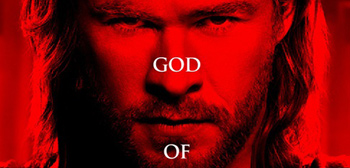 The God of Thunder Thor Poster Crop