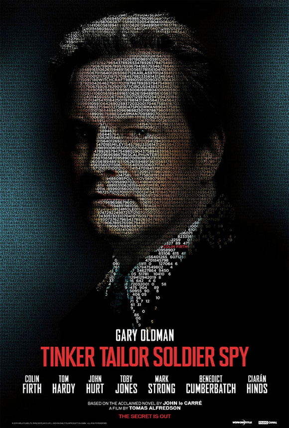 Tinker, Tailor, Soldier, Spy Poster - Colin Firth
