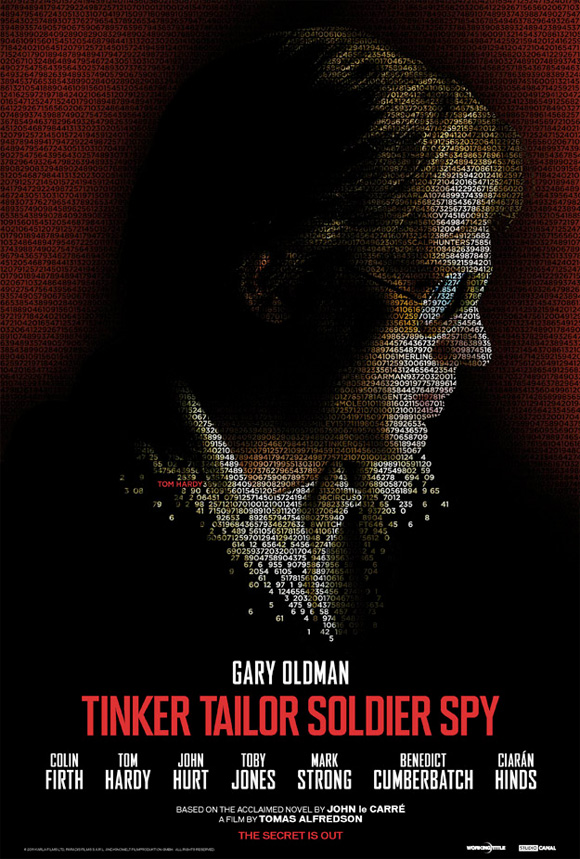 Tinker, Tailor, Soldier, Spy Poster - Tom Hardy