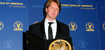 Tom Hooper at the Directors Guild Awards