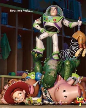 Toy Story 3 Oscar ad - Rocky