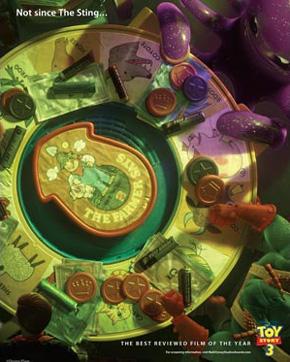 Toy Story 3 Oscar ad - Sting