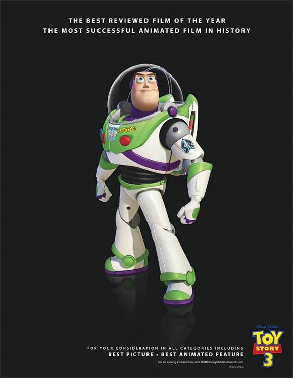 Toy Story 3 Oscar Ad - Buzz Lightyear