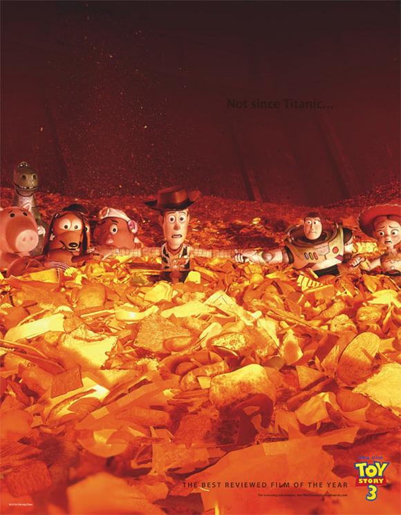 Toy Story 3 Oscar Ad - Titanic