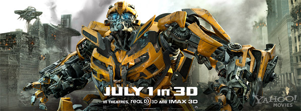 Transformers: Dark of the Moon Banner - Bumblebee