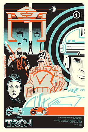 Eric Tan Tron Legacy Poster 1
