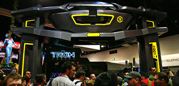 Comic-Con 2010 - Tron Legacy Booth