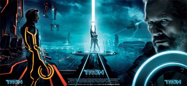 Tron Legacy Triptych