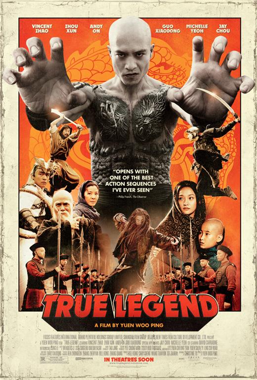 Yuen Woo-Ping's True Legend Poster