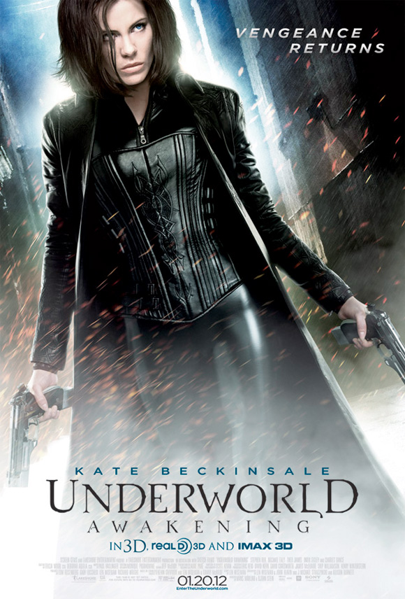 Underworld: Awakening - US Poster