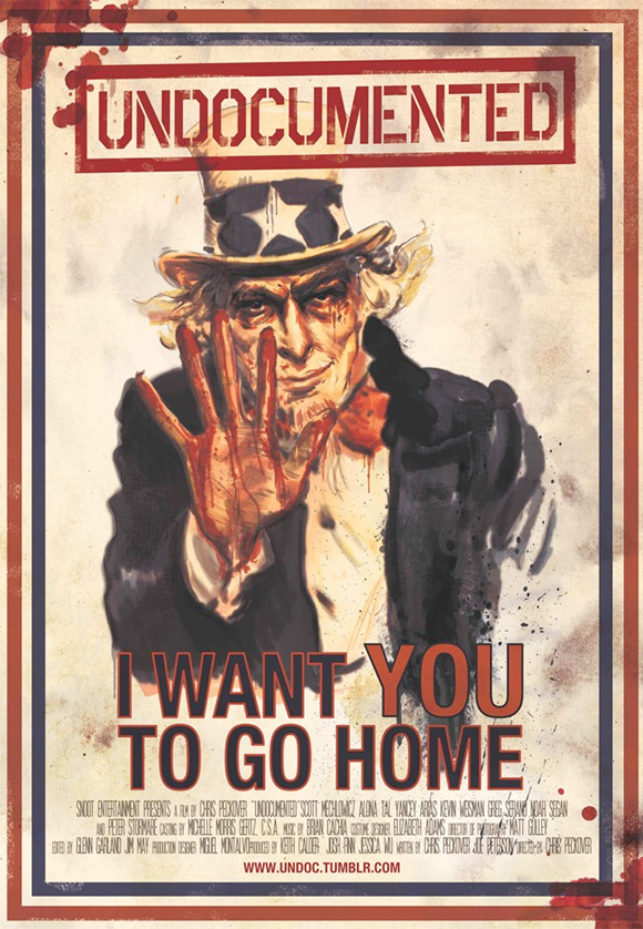 Undocumented - Uncle Sam Poster