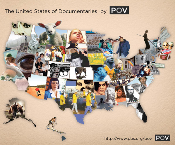 United States Map of Documentaries