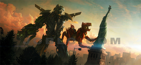 Voltron Movie Concept Art