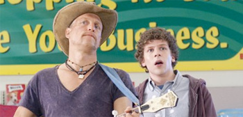 Woody Harrelson and Jesse Eisenberg