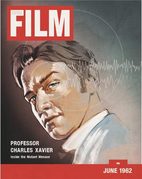 Xavier Retro Magazine Cover