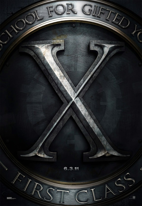 X-Men: First Class Teaser Poster