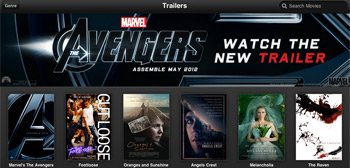 Apple Movie Trailer App