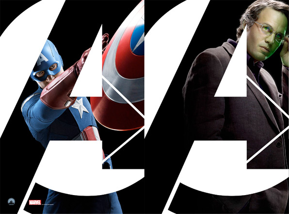 The Avengers Character Banner