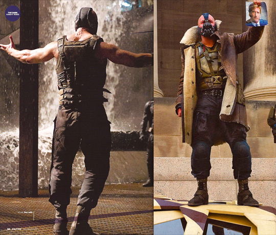 Bane in The Dark Knight Rises