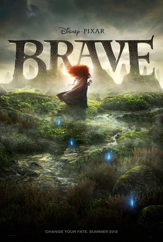 Pixar's Brave Teaser Poster