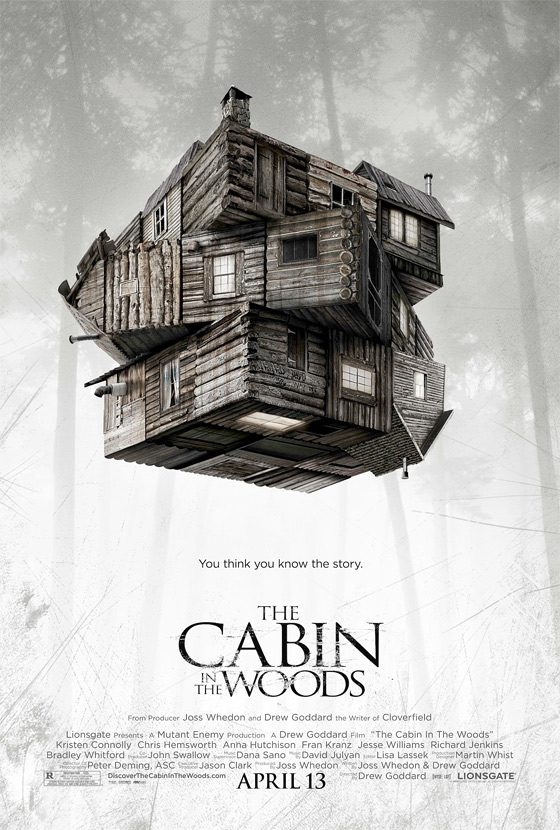 The Cabin in the Woods Teaser Poster