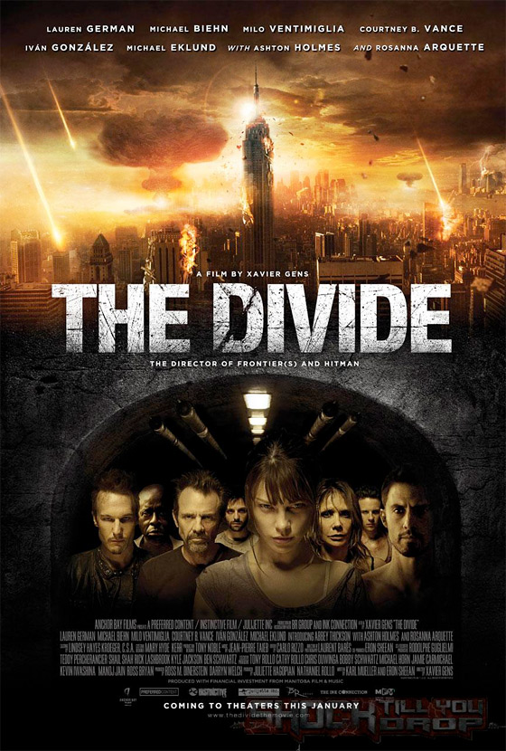 Xavier Gens' The Divide Poster