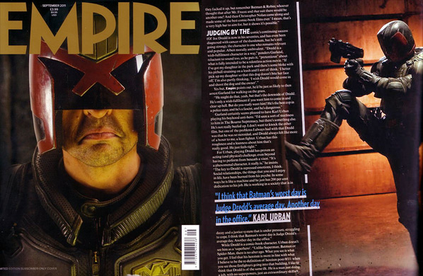 Dredd Photos - Empire