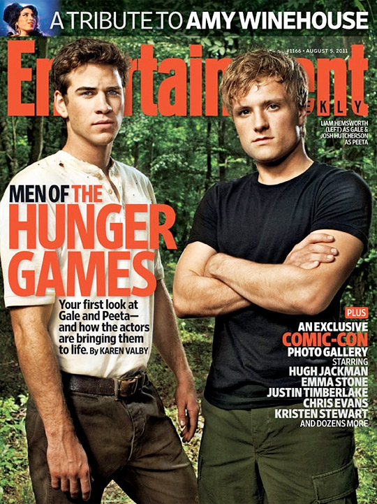 EW Hunger Games - Gale and Peeta