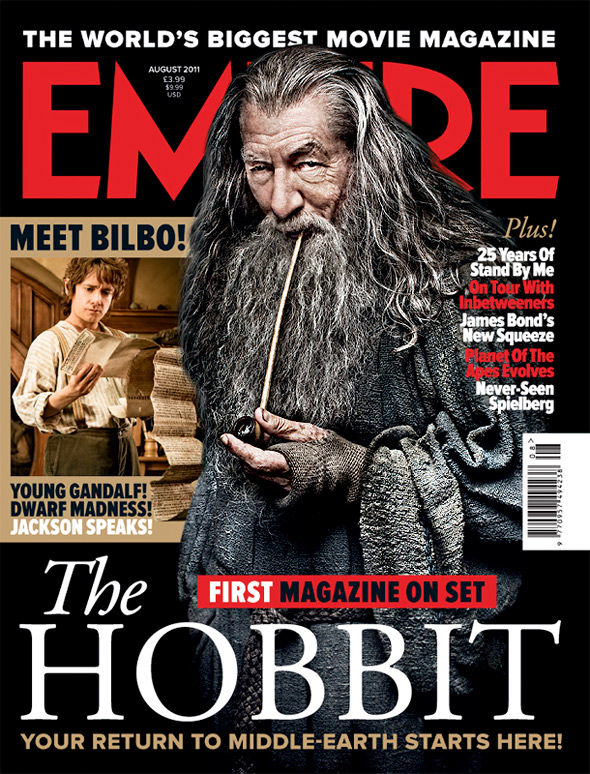 Empire's First Cover for The Hobbit