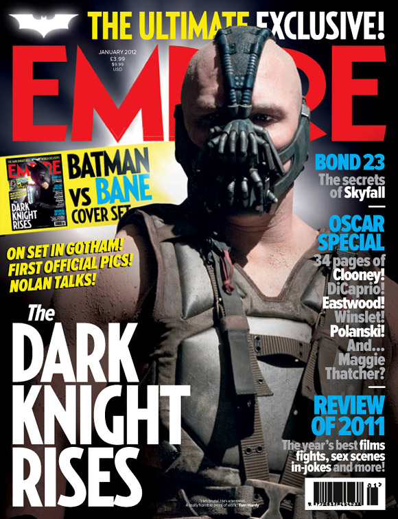 The Dark Knight Rises Empire Magazine Cover - Bane