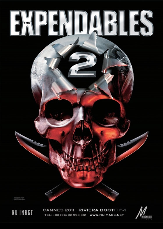 The Expendables 2 Teaser Poster - FirstShowing.net