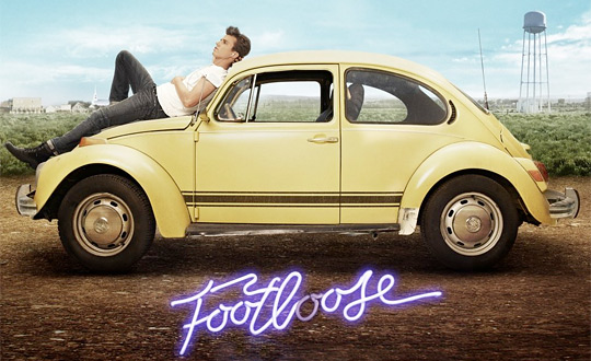 Kenny Wormald in Footloose