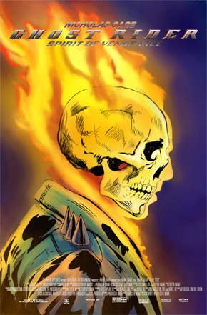 Ghost Rider: Spirit of Vengeance Posters