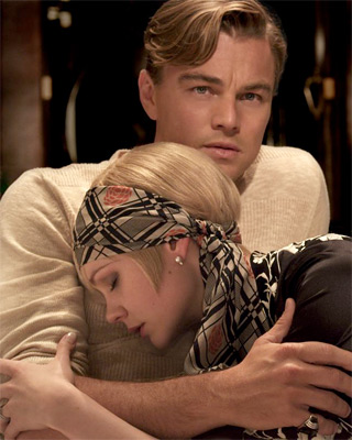 Leonardo DiCaprio & Carey Mulligan in The Great Gatsby