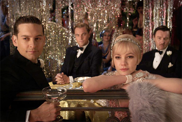 Tobey Maguire & Carey Mulligan in The Great Gatsby