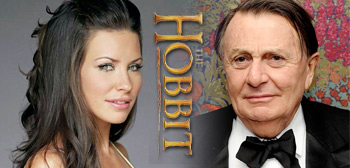 Evangeline Lilly & Barry Humphries