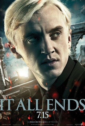 Harry Potter and the Deathly Hallows: Part 2 Poster - Draco Malfoy