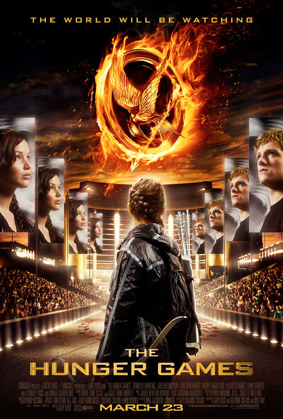 The Hunger Games Official Puzzle Poster