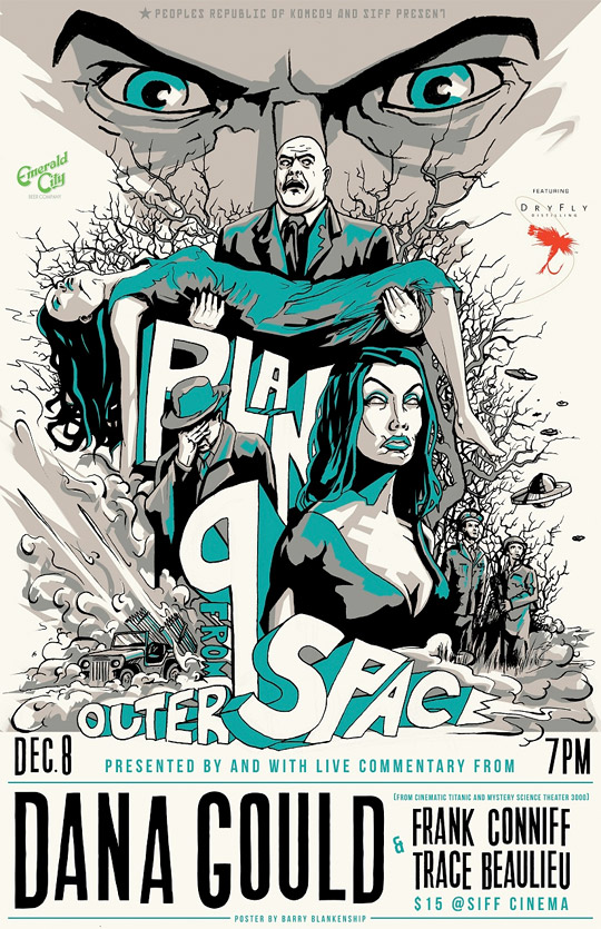 Check this out barry blankenship 39 s 39 plan 9 from outer for Outer space poster design